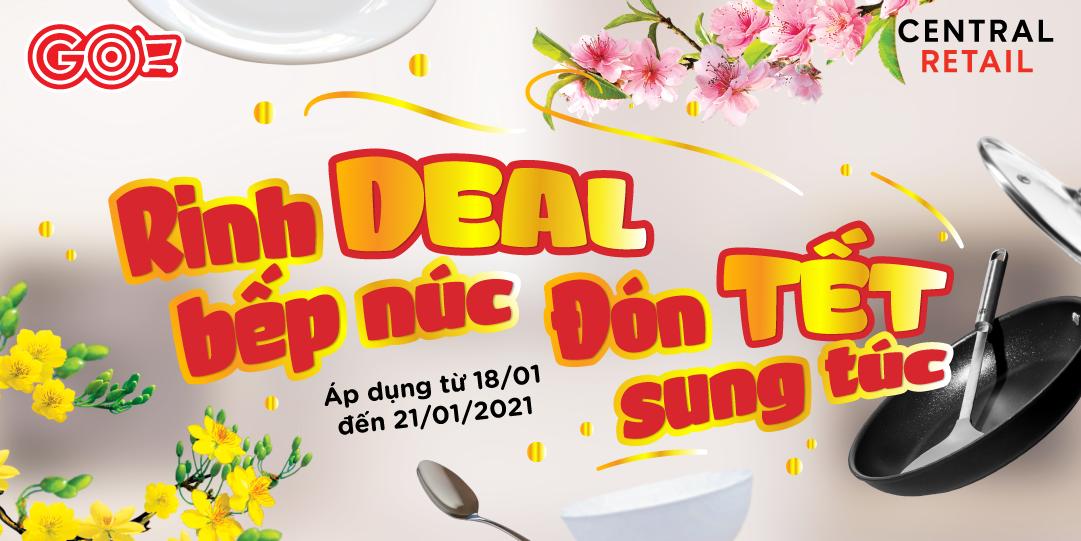 CÙNG GO! RINH DEAL BẾP NÚC ĐÓN TẾT SUNG TÚC