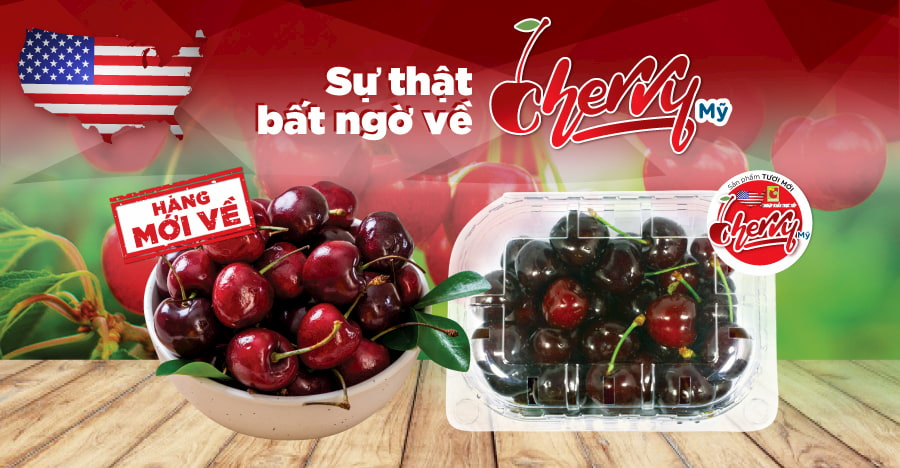 Cherry - Surprising nutritional value in such a sweet tiny fruit