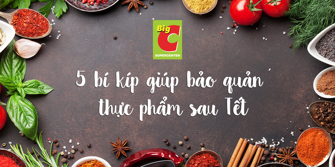 5 food safety tips for Tet leftovers