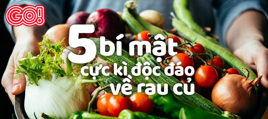 5 super cool facts about vegetables