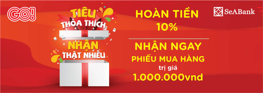 Latest promotion from SeABank for your extra savings at GO! My Tho