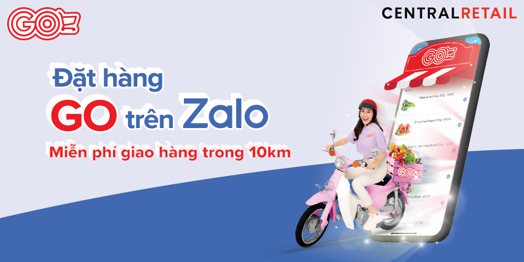 ONLINE SHOPPING & FREE DELIVERY ON ZALO