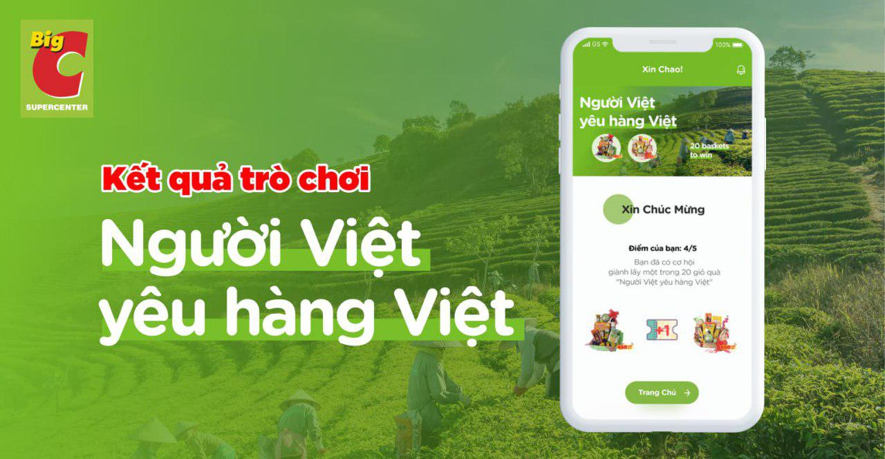 "App game result: ""Vietnamese people love Vietnamese products"""