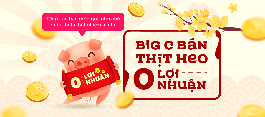 GO! to sell pork at zero profit from 28 December to Lunar New Year